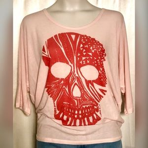 Go Couture Vintage Collection Skull T